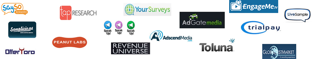 our free paid survey providers
